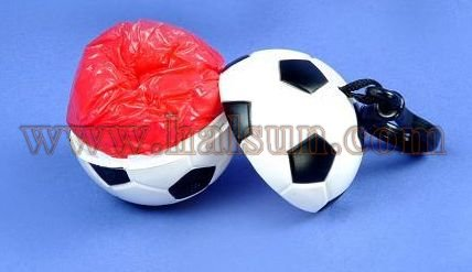 Football raincoats,disposable raincoats in small plastic football